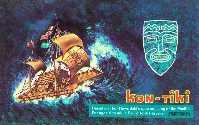 Kon Tiki The Board Game In Randys Bamboo Room